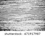 grunge black and white urban... | Shutterstock .eps vector #671917987