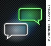 vector realistic isolated neon... | Shutterstock .eps vector #672004873