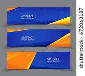 vector abstract geometric... | Shutterstock .eps vector #672063187