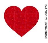 vector illustration of red... | Shutterstock .eps vector #672087193