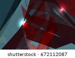 abstract backgrounds design ... | Shutterstock .eps vector #672112087