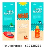 travel and vacation vector... | Shutterstock .eps vector #672128293