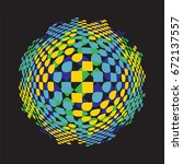 abstract background vector | Shutterstock .eps vector #672137557