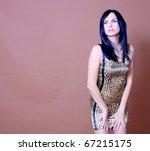 attractive fashion model | Shutterstock . vector #67215175