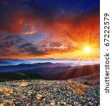 Majestic Sunrise In The...