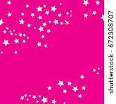 star falling confetti print....   Shutterstock .eps vector #672308707
