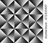 seamless gradient stripe... | Shutterstock .eps vector #672325447