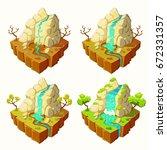 3d isometric illustrations of...