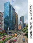 hong kong   may  26  2007 ...   Shutterstock . vector #672346597