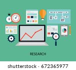 research illustration | Shutterstock . vector #672365977