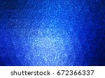 dark blue vector christmas... | Shutterstock .eps vector #672366337