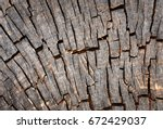 abstract background with cut of ... | Shutterstock . vector #672429037