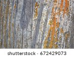 abstract background with wooden ... | Shutterstock . vector #672429073