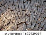 abstract background with cut of ... | Shutterstock . vector #672429097