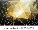 black gray yellow white... | Shutterstock .eps vector #672504697
