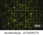 abstract background with... | Shutterstock .eps vector #672509173