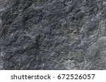 black or gray rough bumpy... | Shutterstock . vector #672526057