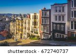 View Of Colorful San Francisco...