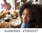 little kid children smiling...   Shutterstock . vector #672842527