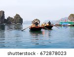 Halong Bay  Vietnam.  Tourist...
