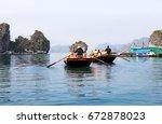 Halong Bay  Vietnam.  Tourist...