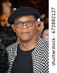"Small photo of LOS ANGELES, CA - JANUARY 19, 2017: Samuel L. Jackson at the Los Angeles premiere for ""XXX: Return of Xander Cage"" at the TCL Chinese Theatre, Hollywood."