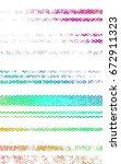 light multicolor  rainbow low... | Shutterstock . vector #672911323