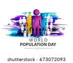 illustration poster or banner... | Shutterstock .eps vector #673072093
