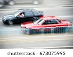Cars At Speed. Street Racing....