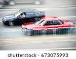 Cars At Speed. Street Racing....