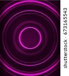 neon purple circles vector...   Shutterstock .eps vector #673165543