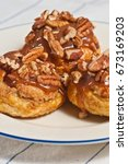 Three  Baked  Pecan  Croissant...