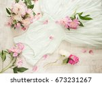 glamor elegant evening party... | Shutterstock . vector #673231267