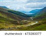 view of loch maree from glen...