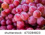Red Wine Grape Or Dark Grapes...
