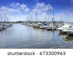 Small photo of City Marine View, New Bern, North Carolina, USA