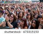 valencia  spain   jun 11  the... | Shutterstock . vector #673315153