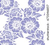 abstract elegance seamless... | Shutterstock .eps vector #673346857