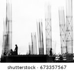 Workers With Structure Of Stee...