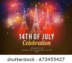 illustration banner or poster... | Shutterstock .eps vector #673455427