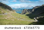 the bealach na ba  pass of the... | Shutterstock . vector #673565773