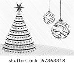 christmas background   Shutterstock .eps vector #67363318