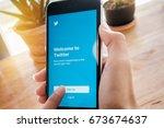 chiangmai  thailand  feb 13...   Shutterstock . vector #673674637