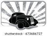 car custom and car vintage with ...