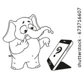 Elephant. Character. Someone...
