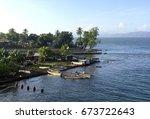 scene from the port of alotau