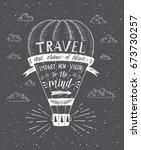 travel. vector illustration of... | Shutterstock .eps vector #673730257
