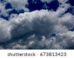 The White Puffy Clouds In A...