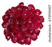 bouquet of roses | Shutterstock . vector #673934407