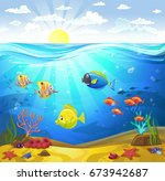 vectorial illustration of a... | Shutterstock .eps vector #673942687
